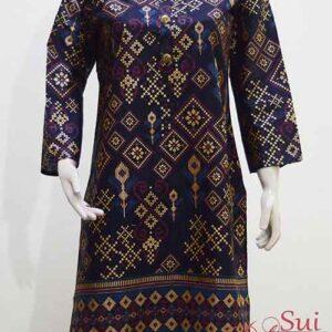 Black Kurti Stitched Khaddar