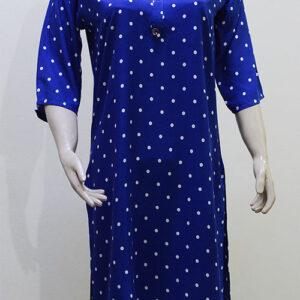 Blue-Spotted-kurti